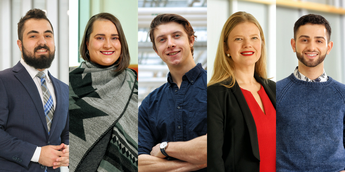 Student leadership that matters: Get to know Dal's 2018 Governors' Award winners